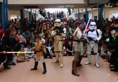 Llega la invasión solidaria de Star Wars a Almirante Brown