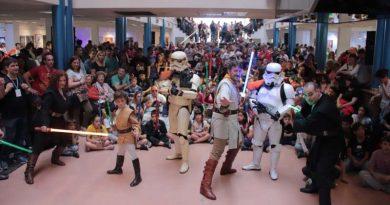 20181008 brown Desfile solidario de Star Wars recaudó 700 litros de leche