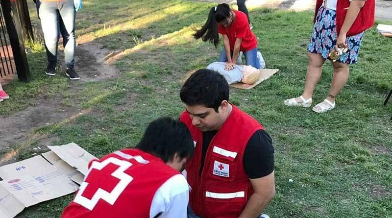 20190107 brown5 Curso teórico práctico de Soporte Vital Básico de la Cruz Roja