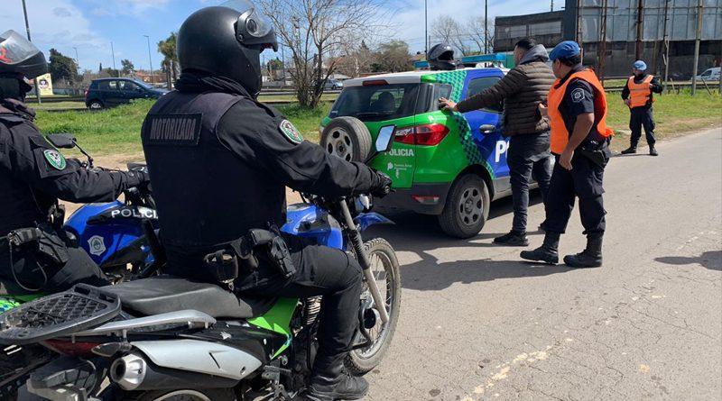 20190906 brown Operativo anti motochorros en Adrogué