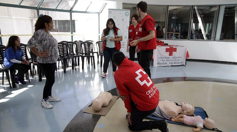 20191017 brown Charlas gratuitas de la Cruz Roja en Adrogué