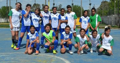 20191101 deporte Liga de fútbol femenino en Alte Brown