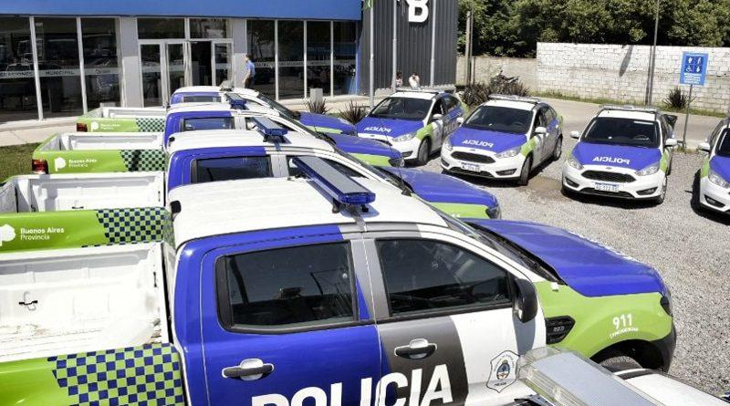 20191122 brown Móviles policiales en Alte Brown
