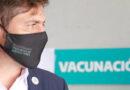 Kicillof destacó que «la Provincia está llegando al primer medio millón de vacunados»