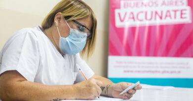 Avanza la vacunación en toda la provincia